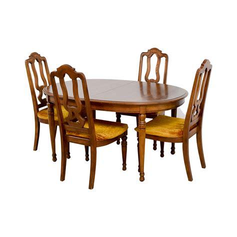 used bernhardt dining room furniture peenmedia com 90 off bernhardt bernhardt vintage dining set with