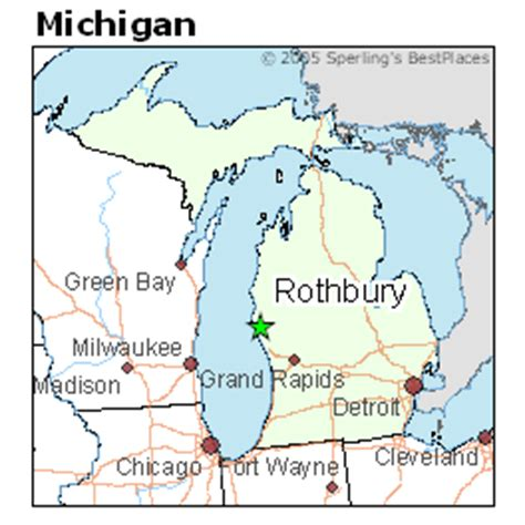 rothbury michigan map best places to live in rothbury michigan