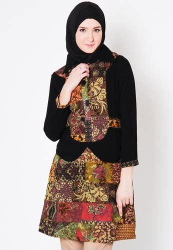 Gamis Wanita Selutut 14 model baju atasan wanita batik terbaru trendy modis
