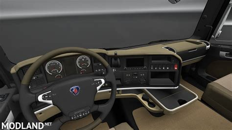 scania r730 interni cabina scania r interior exterior rework mod for ets 2