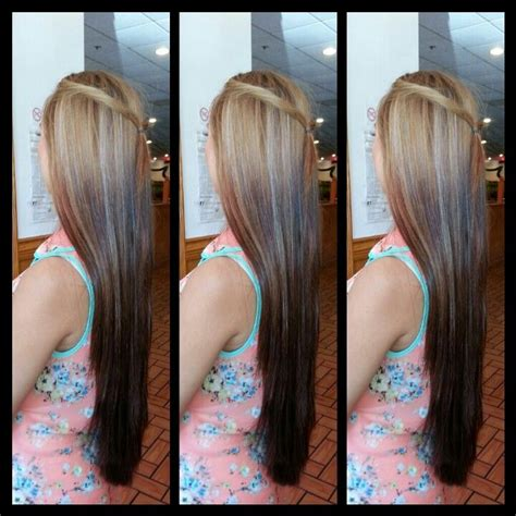 reverse ombrepics 60 best ombre hair