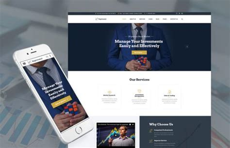Holding Company Website Template by Top 15 Html Templates To Make Your Finance Consulting