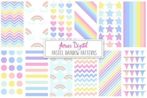 pastel pattern paper pastel rainbow pattern paper patterns creative market