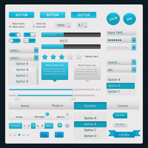 design ui elements 50 free and high quality psd web ui elements to speed up