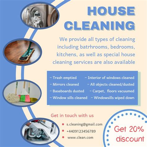 cleaning advertisement template cleaning service advertisement template cleaning service