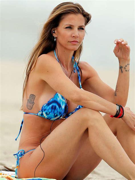 Charisma Carpenter Pictures Bikini In Malibu Gotceleb