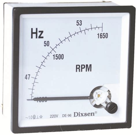 Frekuensi Frequency Hz Meter 45 65 Hz Jarum 72x72 Analog Tab High Precison 45 65 Hz Rpm Meter Buy 45 65 Hz Rpm Meter