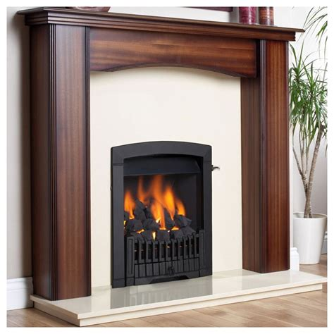 open flame gas l gas fire flavel rhapsody slide control open fronted living