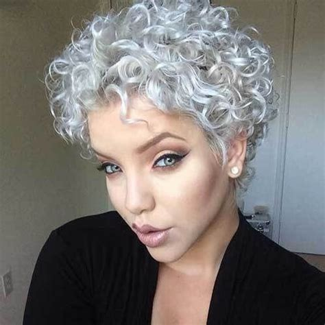 Hairstyles For Naturally Curly Hair 50 by Silver Curly Hair Curly Hair