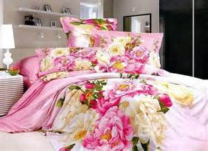 pink flowers world printed 4 duvet cover