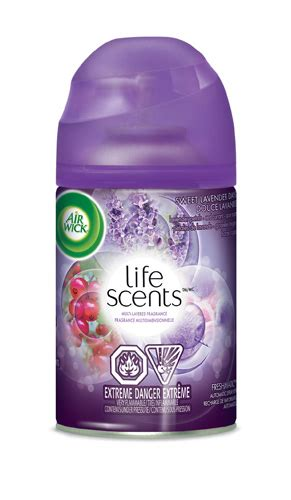 Cool Scents Lavender air wick 174 freshmatic cool linen white lilac canada