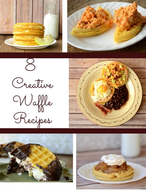 11 creative cing food ideas and recipes that will make 8 creative waffle recipes