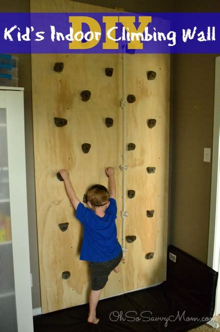 diy outdoor climbing wall how to build a diy kids climbing wall oh so savvy mom