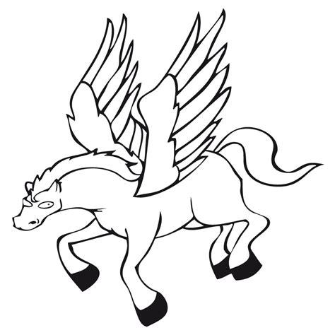 imagenes de unicornios y pegasos para colorear pegaso dibujalia dibujos para colorear profes arte