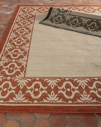 Designer Rugs Outdoor Flatweave Rugs At Neiman Marcus Horchow Outdoor Rugs