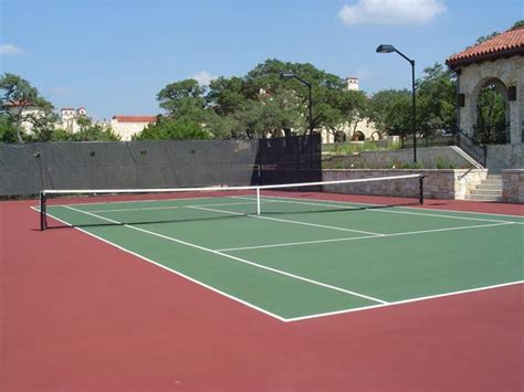 backyard tennis court tennis courts in austin sport court 174 of austin