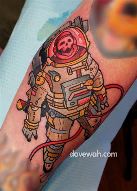 nathans tattoo nathan s astronaut tatt s astronaut