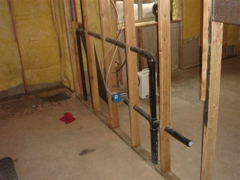 Adding sink to existing basement rough in