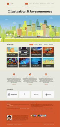 Build A Business Portfolio Website With Wordpress Theme Mozzy Business Portfolio Template