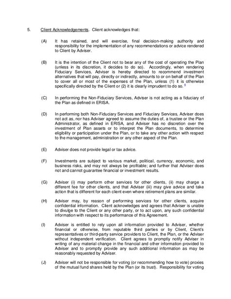 Ria Service Agreement Template 408 B 2 Fiduciary Agreement Template