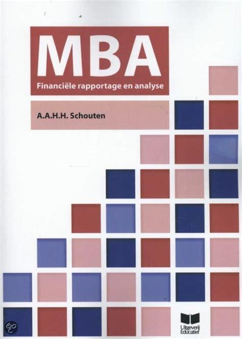Metropolitan Mba Reviews by Bol Mba Financiele Rapportage Analyse A A H H