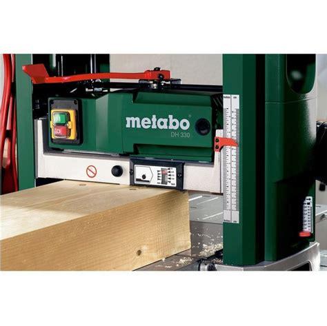 bench planer thicknesser metabo dh330 bench top planer thicknesser 240v