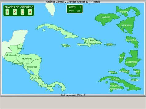 mapa america central y antillas mapa interactivo de am 233 rica central pa 237 ses de am 233 rica