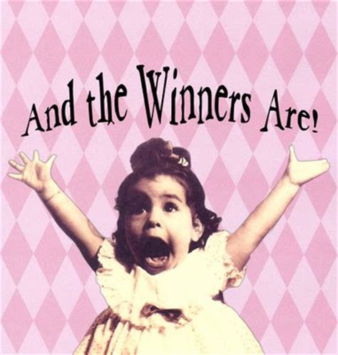Congratulations To The Winners Of Our For Fashion Giveaway by Congratulations And The Winners Are Author And Speaker
