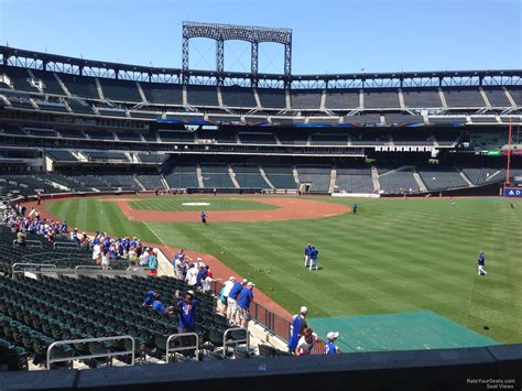 citi field section 104 rateyourseats