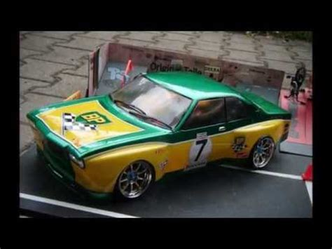 Rsc Auto Tuning by Rc 1 10 Drift Karosserie Opel Commodore Led Licht Tuning