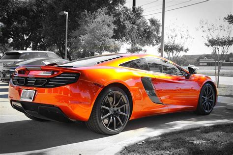 orange mclaren 12c mclaren mp4 12c in volcano orange