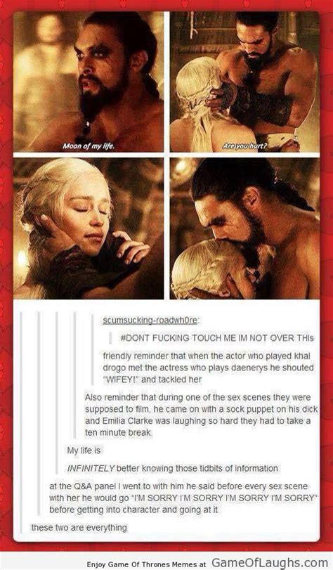 Khal Drogo Meme - daenerys and khal drogo are a perfect couple game of laughs