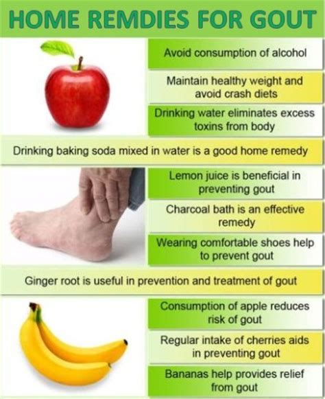 home remedies for gout active home remedies