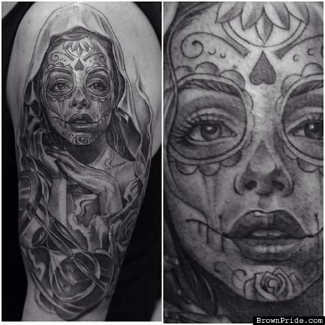 day of the dead tattoo sleeve designs day of the dead images designs
