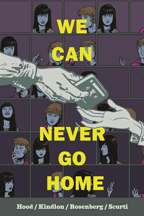 advanced review we can never go home 1 nothing but comics