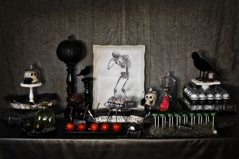 halloween party ideas spooky halloween party ideas handmade decor the flair