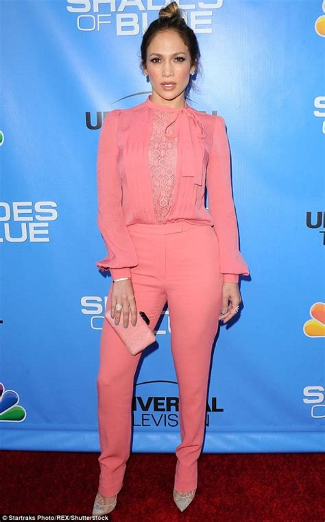 Jlo Collar Blouse splurge s shades of blue television event