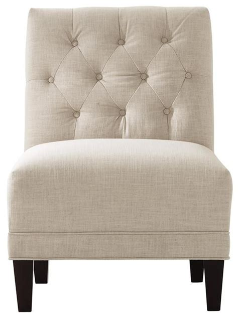 lakewood tufted sofa lakewood tufted armless chair furniture living room seating accent chairs upholstered