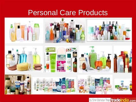 Personal Care 4 personal care products brands