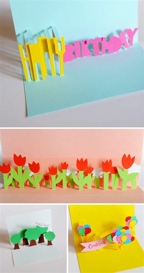 how to make pop up cards at home send a sweet note with one of these handmade pop up