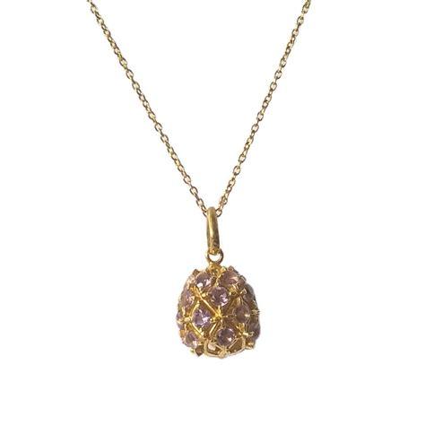 amethyst necklace amara egg necklace by amara amara
