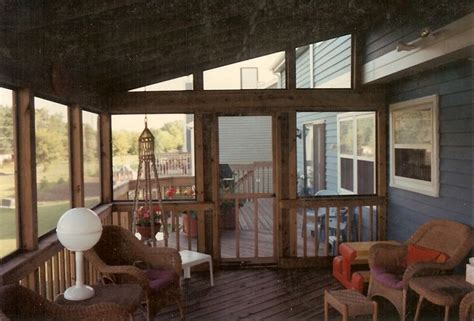 screened porch interior interior  shed roof style