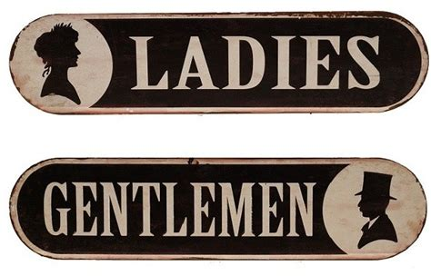 antique bathroom sign vintage style metal bathroom signs farmhouse other