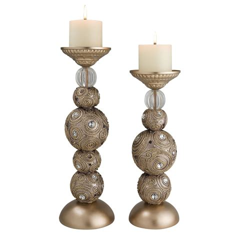 ok lighting home decor ok lighting swirl 2 piece candlestick set wayfair ca