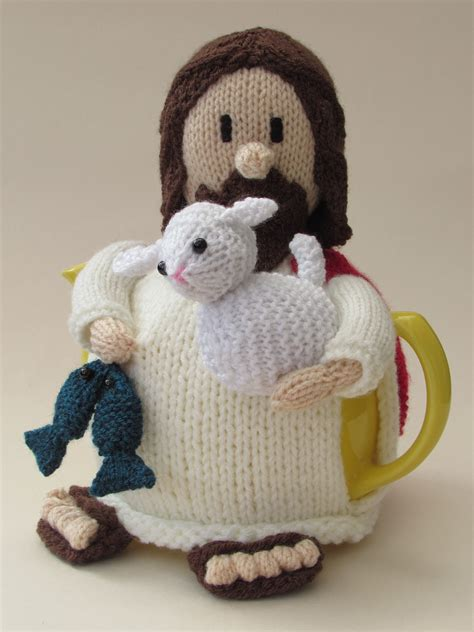 tea cozy knitting pattern jesus tea cosy knitting pattern