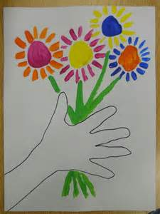 mrs t s first grade class picasso flowers