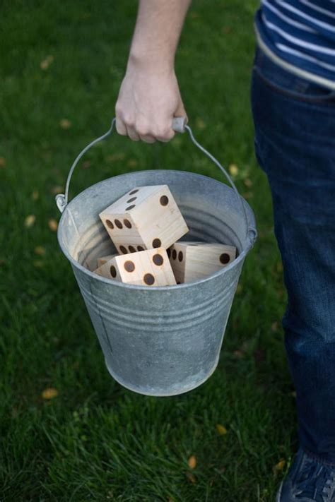 Backyard Yahtzee 17 Diy For Outdoor Family Home Stories A To Z