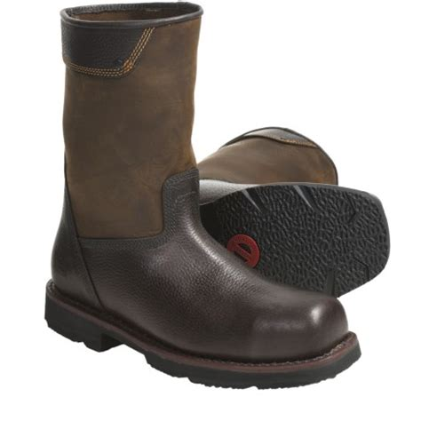 comfortable steel toe boots for men very comfortable tough boot timberland pro 174 palisade
