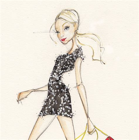 On Our Radar Stylecom Auctions Fashion Illustrations by Lulus And Dallas Shaw Get Lulus