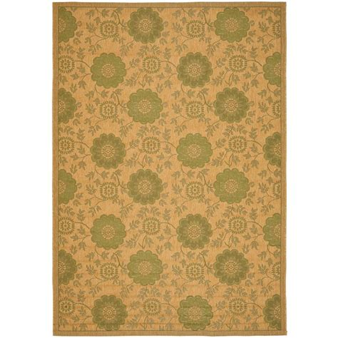 11 X 14 Outdoor Rug by Safavieh Courtyard Green 8 Ft X 11 Ft Indoor